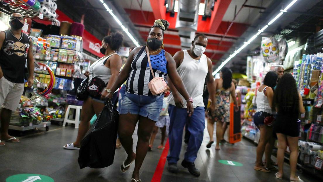 Brasil registra su peor dato económico en 17 años con una contracción del 15 %