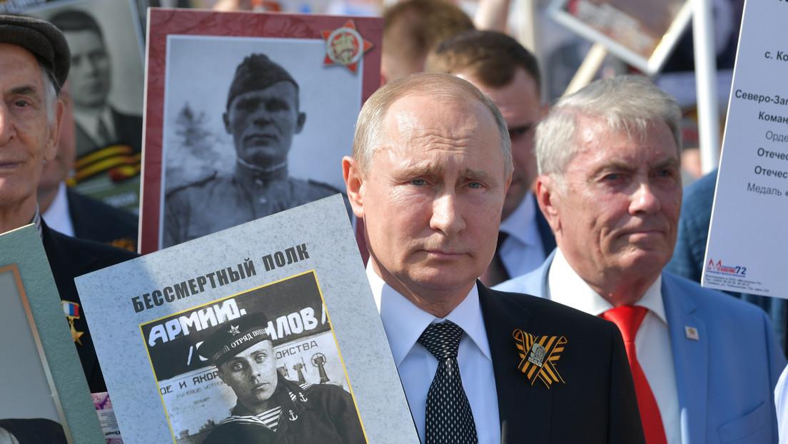 """""""75 años después es importante discutir el futuro juntos"""": Putin publica un artículo sobre la Segunda Guerra Mundial"""
