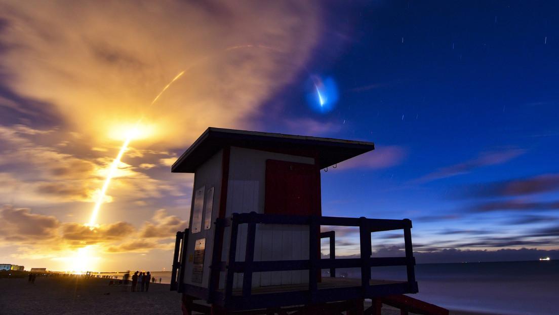 FOTOS: El lanzamiento de los Starlink deja increíbles imágenes en el cielo poco antes del amanecer