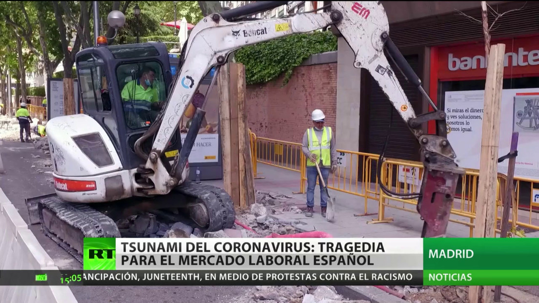 España: La crisis del coronavirus golpea el mercado laboral