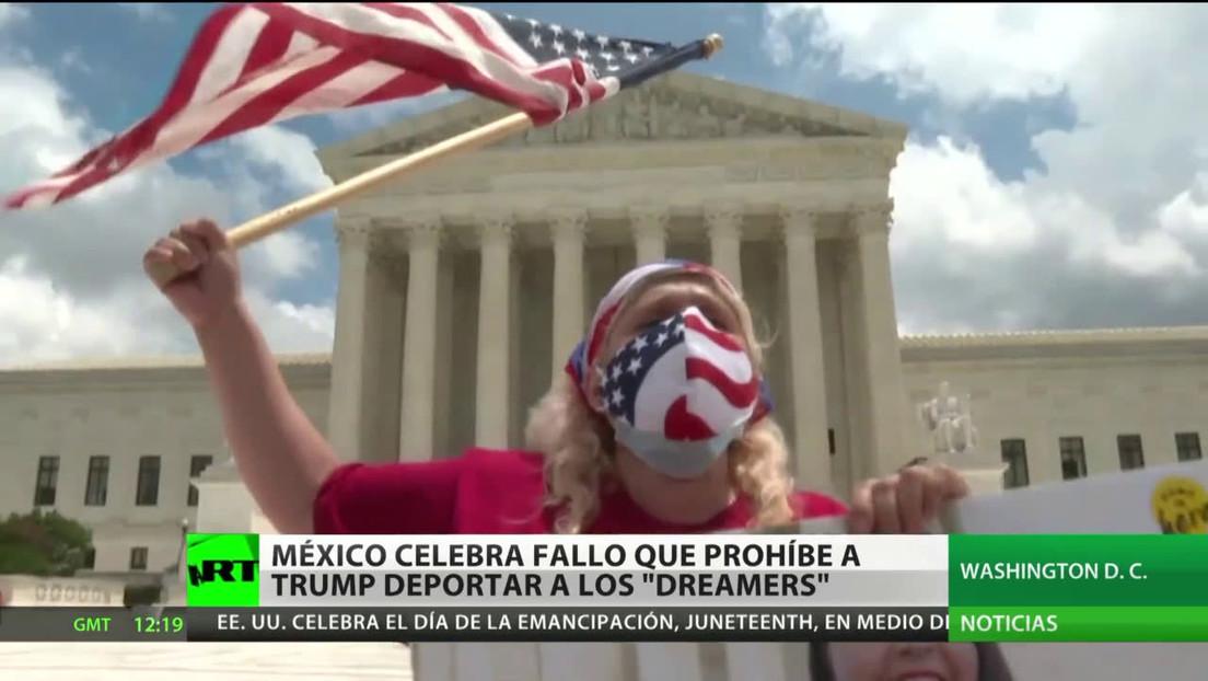 México celebra el fallo judicial estadounidense que prohíbe a Trump poner fin al programa que protege a los 'dreamers' de ser deportados