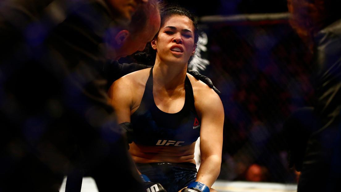 Luchadora de la UFC Rachael Ostovich es suspendida por un año tras dar positivo en dopaje