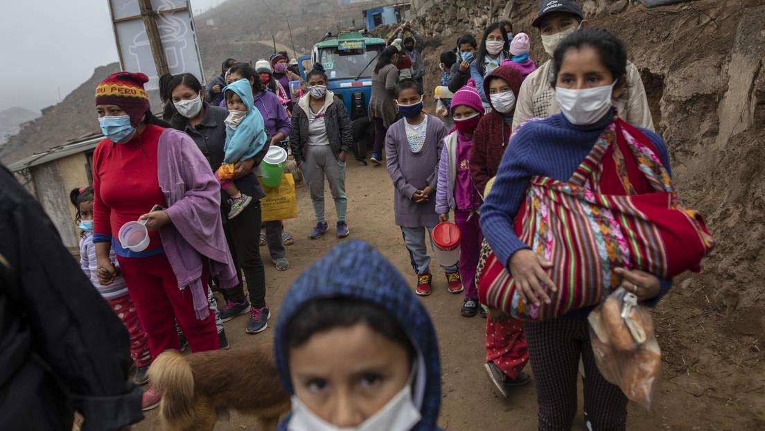 Peruana camina más de 500 kilómetros con sus tres hijas para escapar del coronavirus