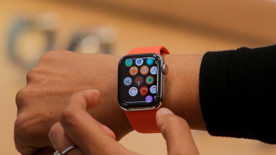 VIDEO: Captan en cámara lenta el asombroso sistema del reloj Apple Watch para deshacerse del agua después de nadar