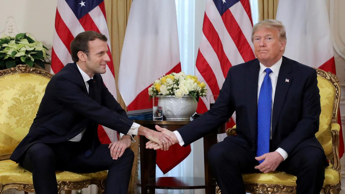 Trump considera que Macron estropea todo lo que toca, revela el libro de Bolton