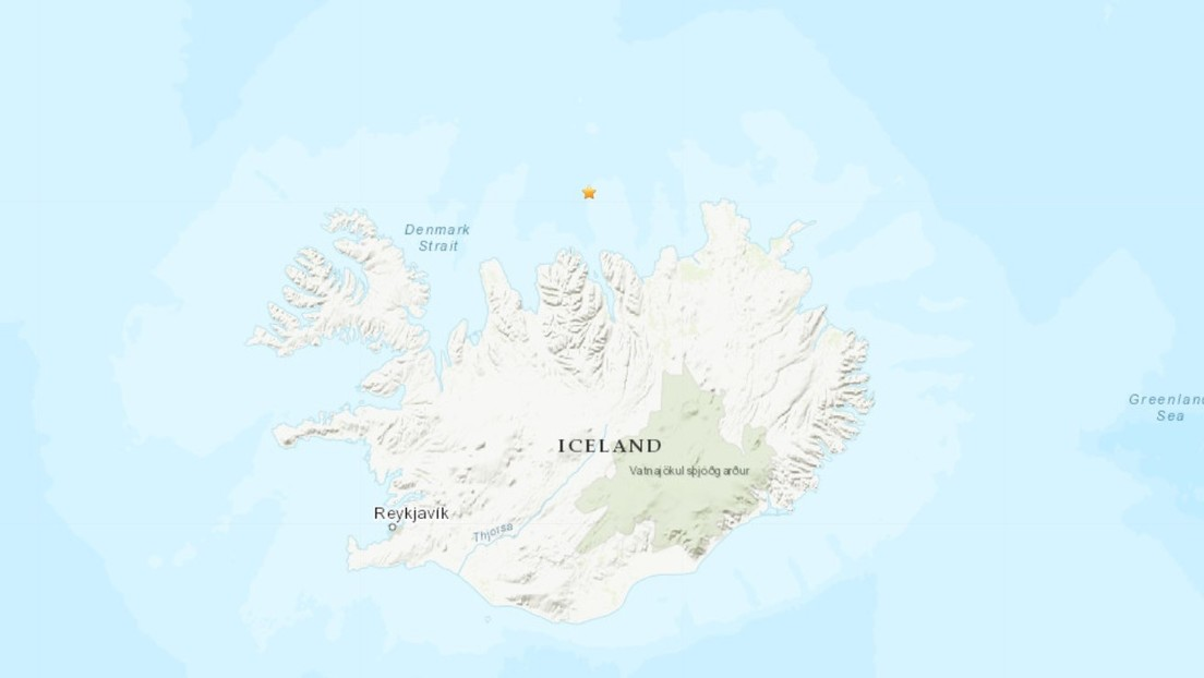 Un sismo de magnitud 6,0 sacude la costa norte de Islandia