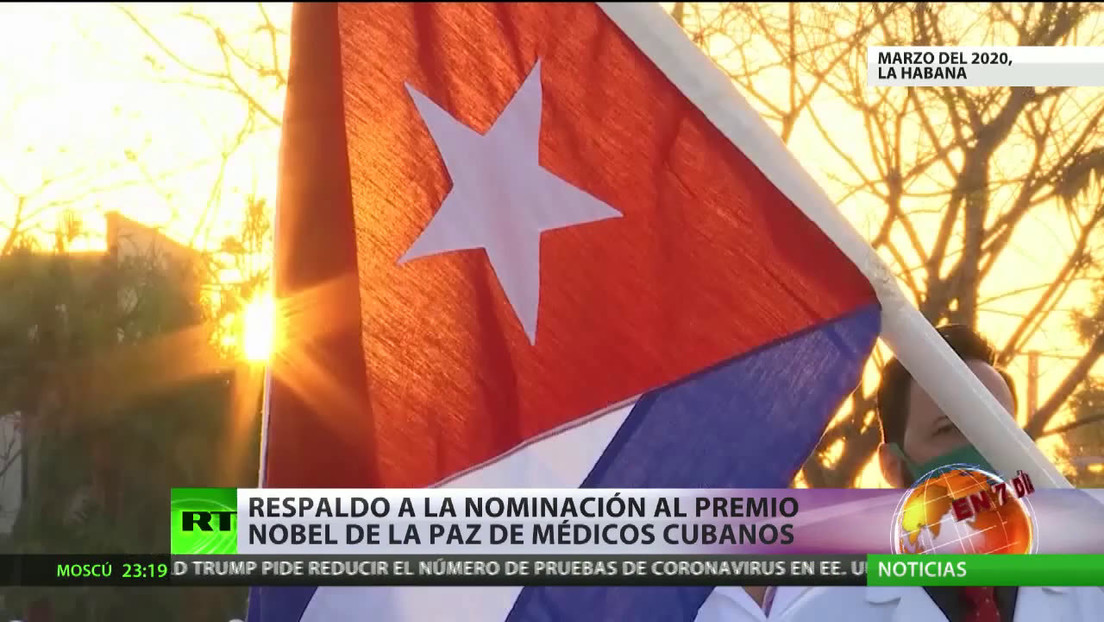 Proponen nominar al premio Nobel de la Paz a la brigada médica cubana Henry Reeve