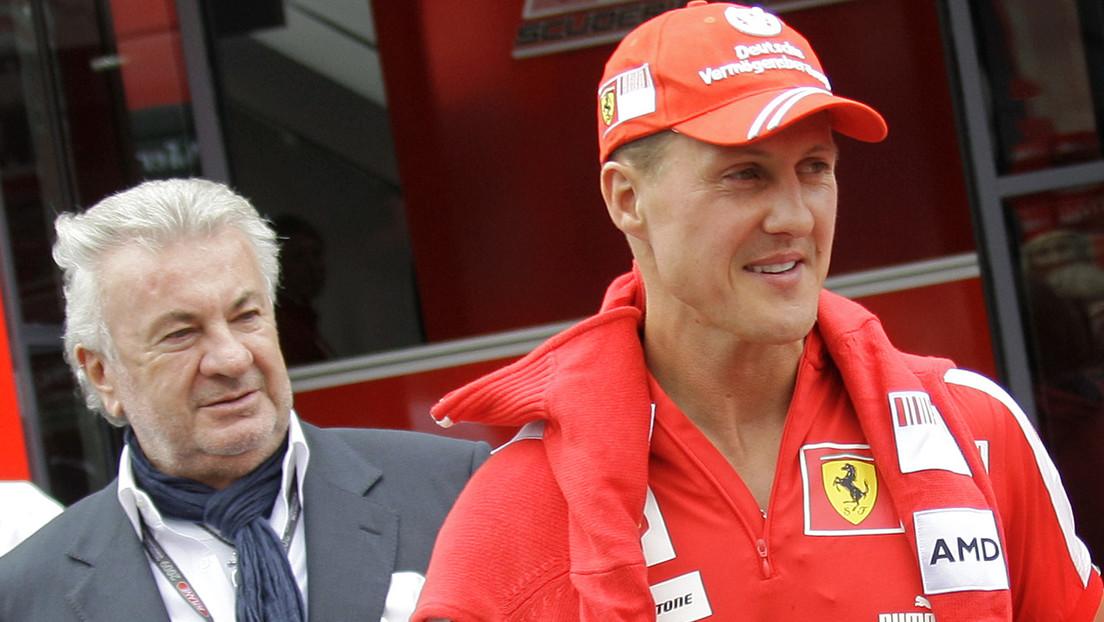 """""""No quería escuchar"""": El exagente de Schumacher revela un consejo y la dura crítica que lanzó al piloto alemán"""