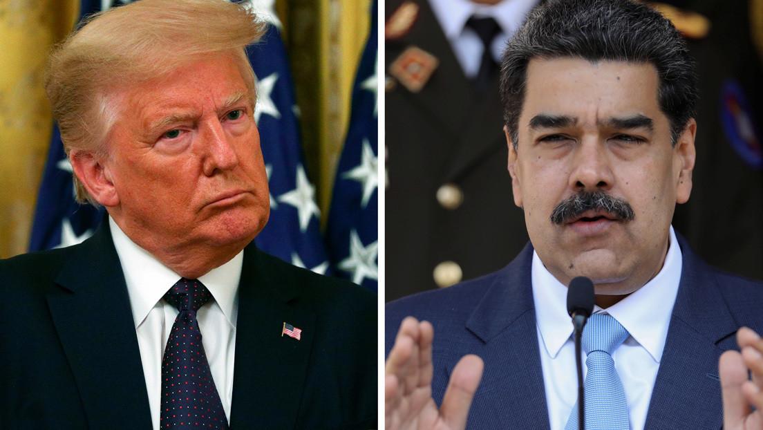 Trump no descarta una reunión con Maduro mientras quita importancia al reconocimiento de Guaidó