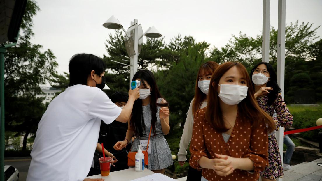 Corea del Sur confirma que está luchando contra la segunda ola de coronavirus