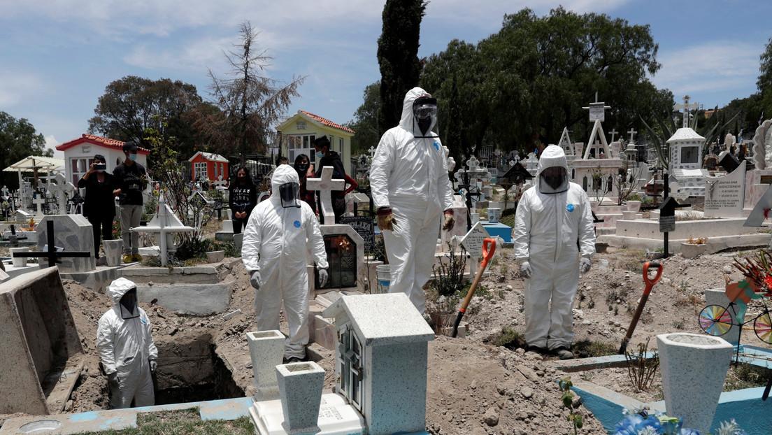 México rebasa los 185.000 casos de coronavirus y ya suma 22.584 fallecimientos