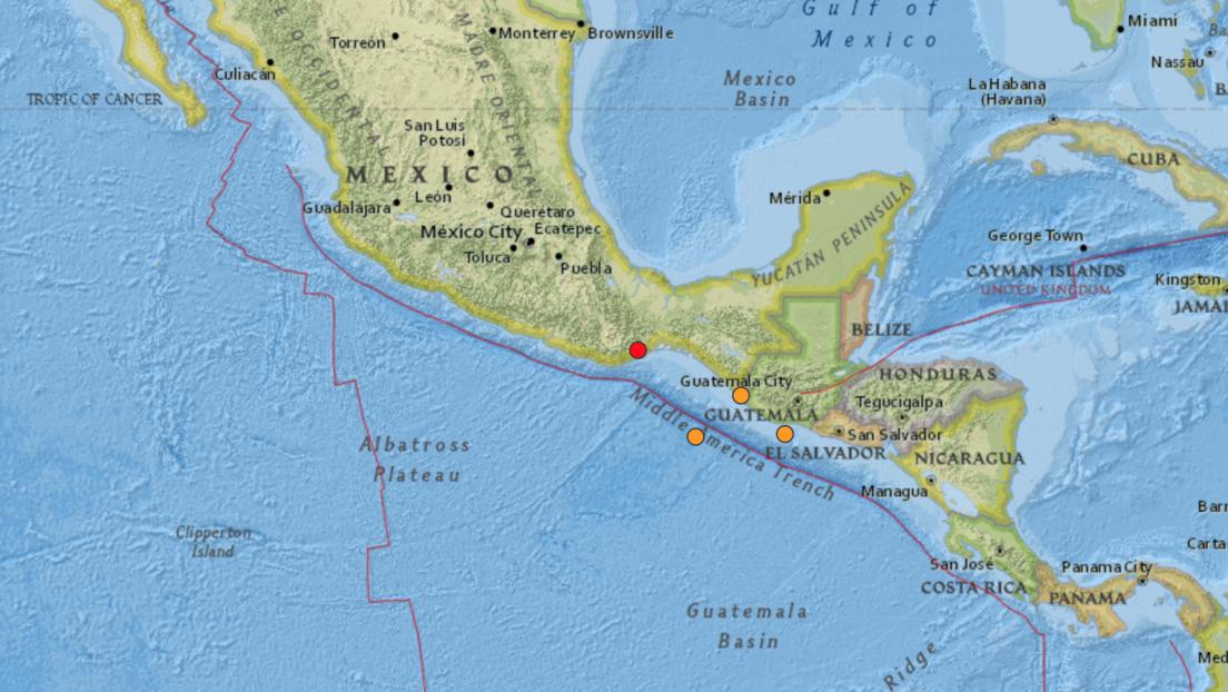 México: Se registra un sismo de magnitud 5,2 en Oaxaca