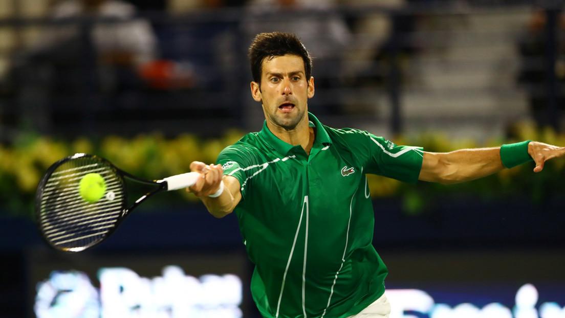 Novak Djokovic da positivo en coronavirus