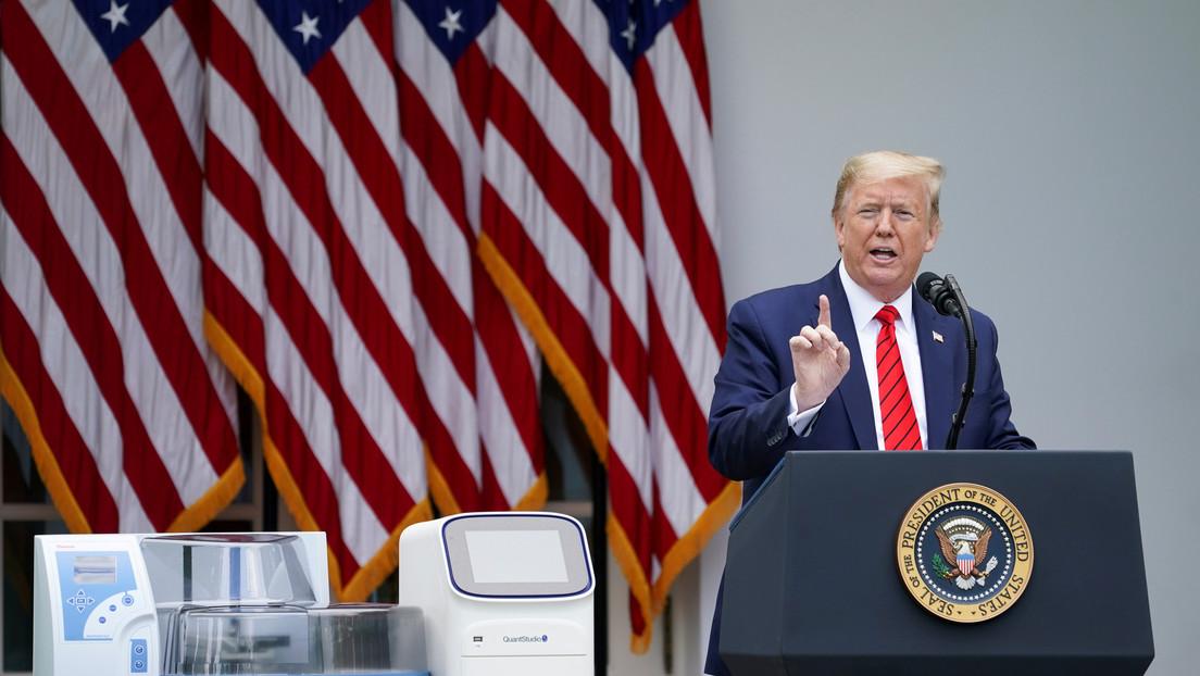 """Trump sobre el aumento de los infectados de coronavirus: """"¡Con menos pruebas mostraríamos menos casos!"""""""