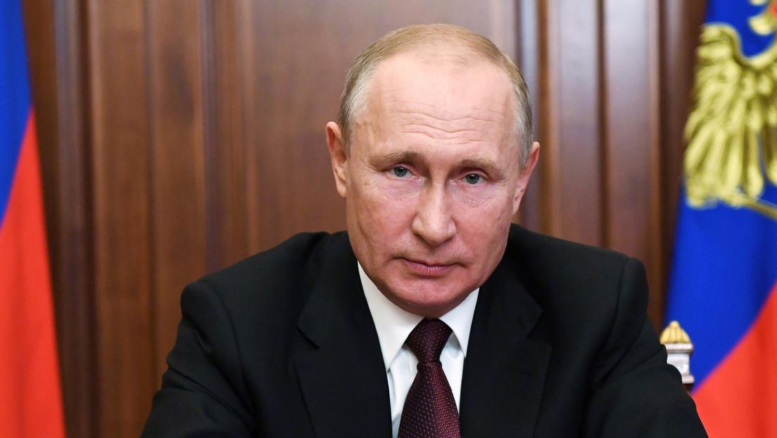 """""""Una de las tasas más bajas del mundo"""": Putin propone reducir al 3 % el impuesto sobre beneficios de las empresas tecnológicas"""