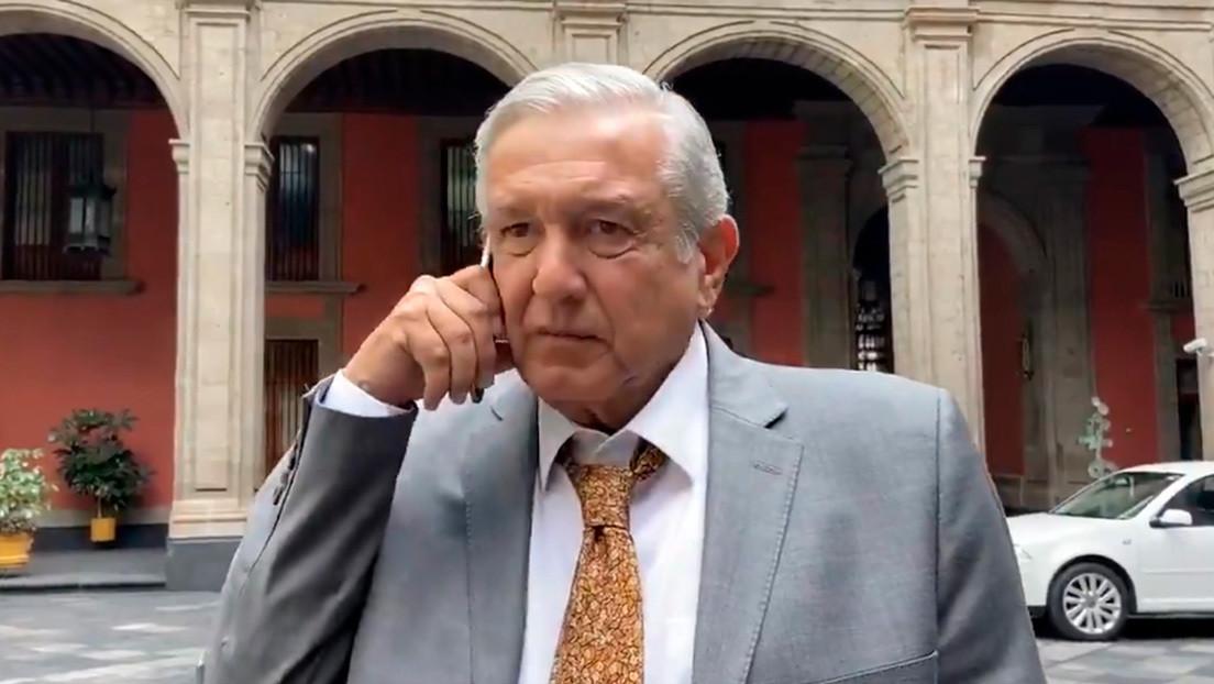 VIDEO: López Obrador informa que no se reportan daños tras el sismo en México y pide actuar con cautela por posibles réplicas
