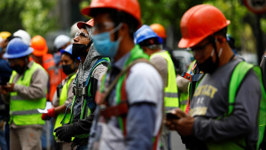 Autoridades confirman dos fallecidos en una zona cercana al epicentro del sismo que sacudió a México