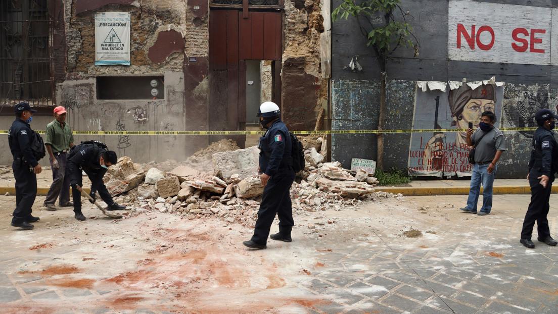 Registran al menos 147 réplicas del sismo de este martes en México