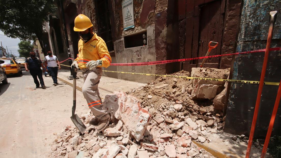 Aumenta a seis el número de fallecidos tras el sismo de magnitud 7,5 en México