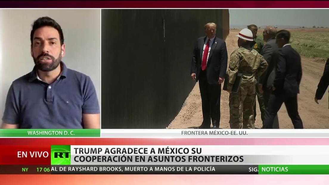 Trump habla de la reducción de la migración ilegal proveniente de América Central