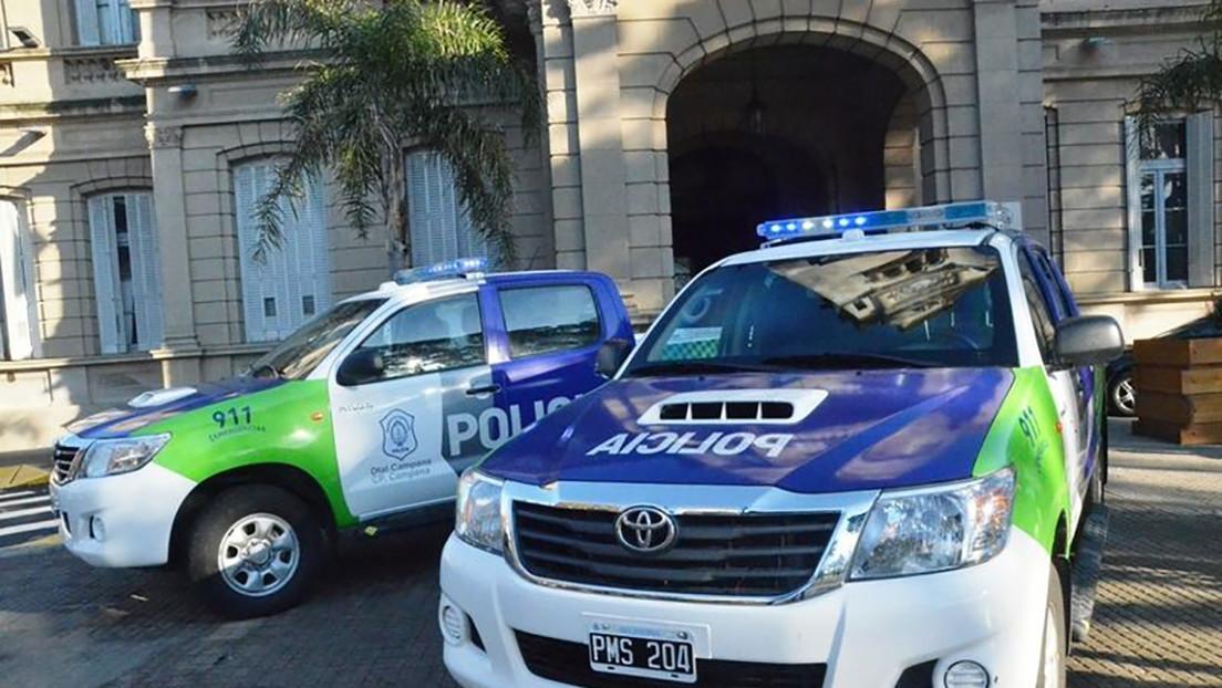 VIDEO: Descubren a un policía de Argentina jugando a reventar un globo con su patrullero