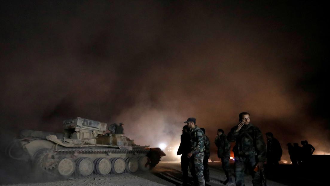 Se registran varias explosiones en Siria después de que aviones israelíes atacaran bases militares (VIDEOS)