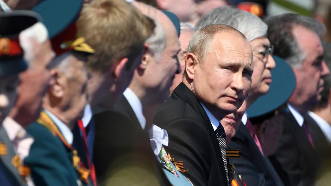 """Putin: """"Es imposible imaginar qué habría pasado en el mundo si el Ejército Rojo no hubiera acudido a su defensa"""""""