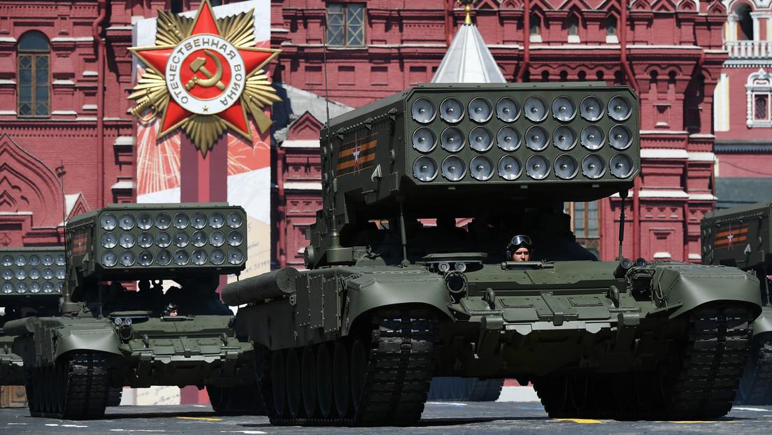 VIDEO: La Plaza Roja de Moscú acoge el desfile militar en honor al 75.º Día de la Victoria en la Gran Guerra Patria