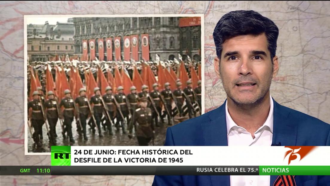 24 de junio: la fecha histórica del primer Desfile de la Victoria en 1945