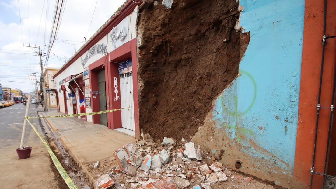 El terremoto en México deja 55 inmuebles históricos dañados solo en Oaxaca