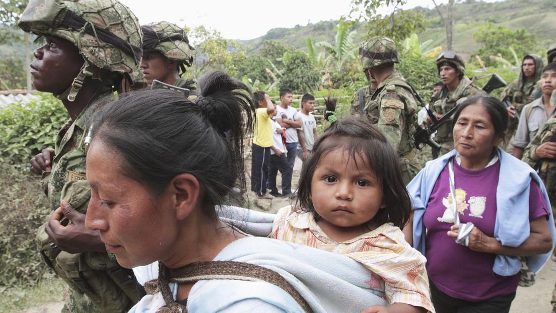 Investigan a siete soldados colombianos por la presunta violación de una niña indígena