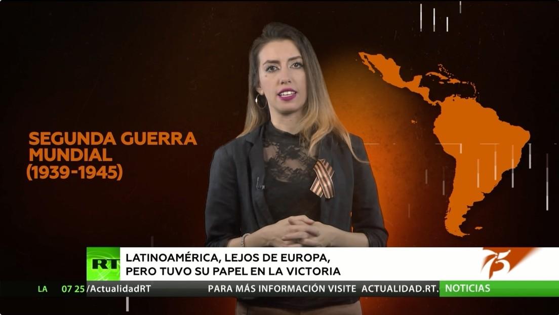 Latinoamérica, aunque lejos de Europa, también tuvo su papel en la victoria de la Segunda Guerra Mundial
