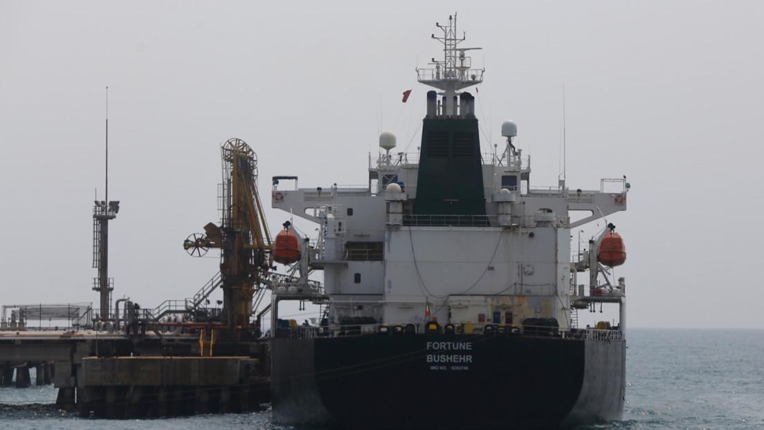 EE.UU. sanciona a los capitanes de los buques iraníes que llevaron gasolina a Venezuela