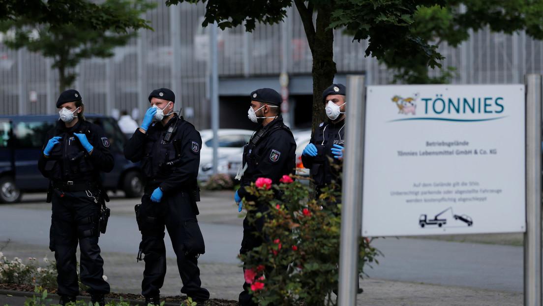 El mecanismo para enfriar el aire de una planta de carne en Alemania propagó el coronavirus entre 1.500 empleados