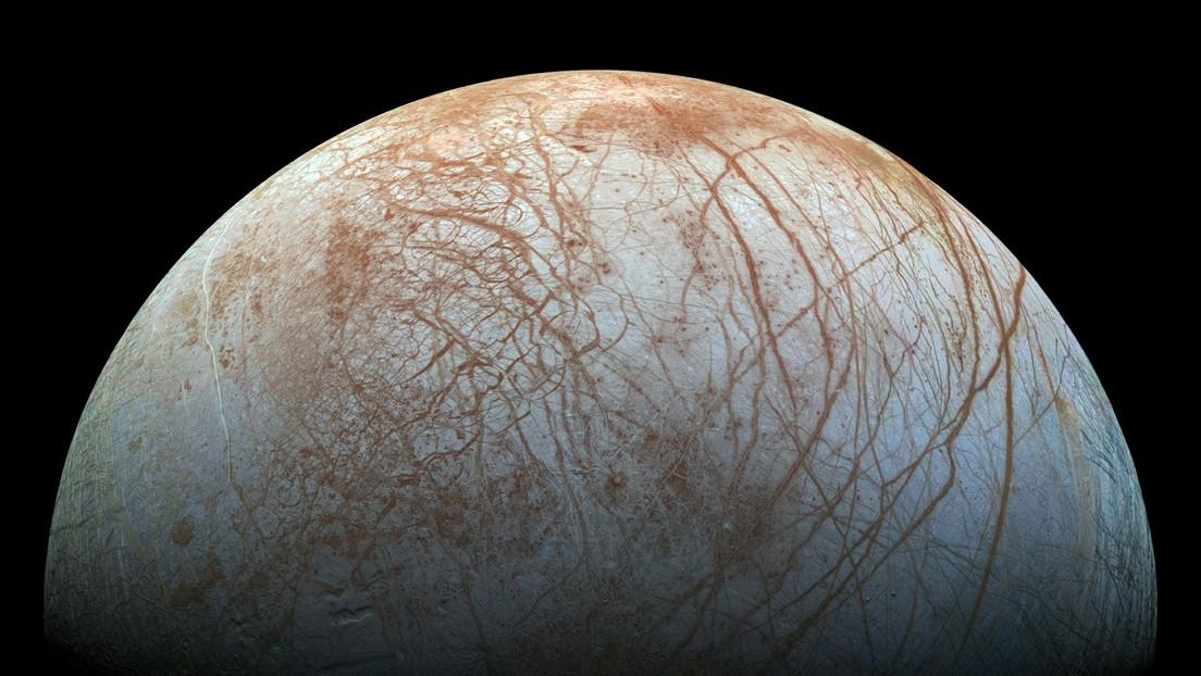 Científicos de la NASA dicen que el océano en la luna Europa puede ser habitable