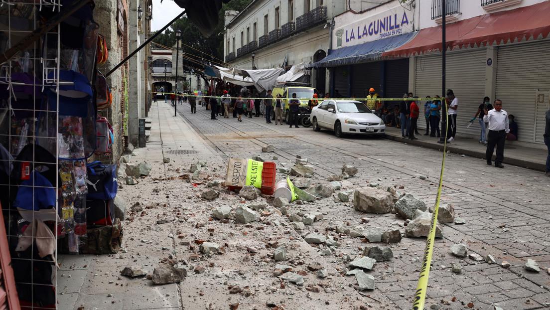 Aumentan a 10 los fallecidos por el terremoto de México