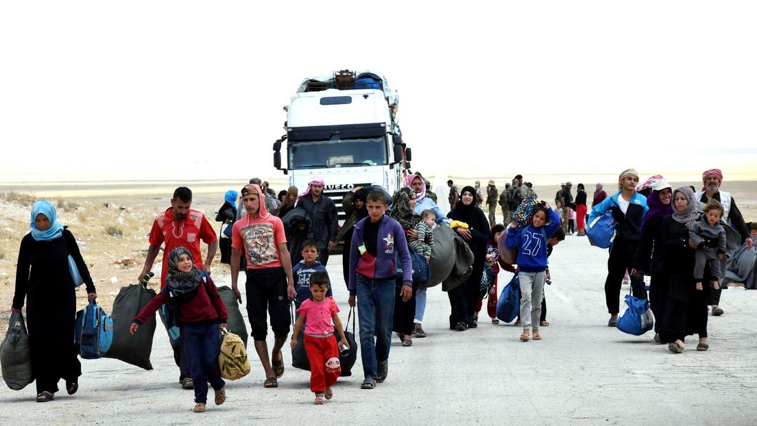 """Rusia y Siria denuncian la """"posición hipócrita"""" de EE.UU. sobre el campo de refugiados de Rukbán"""