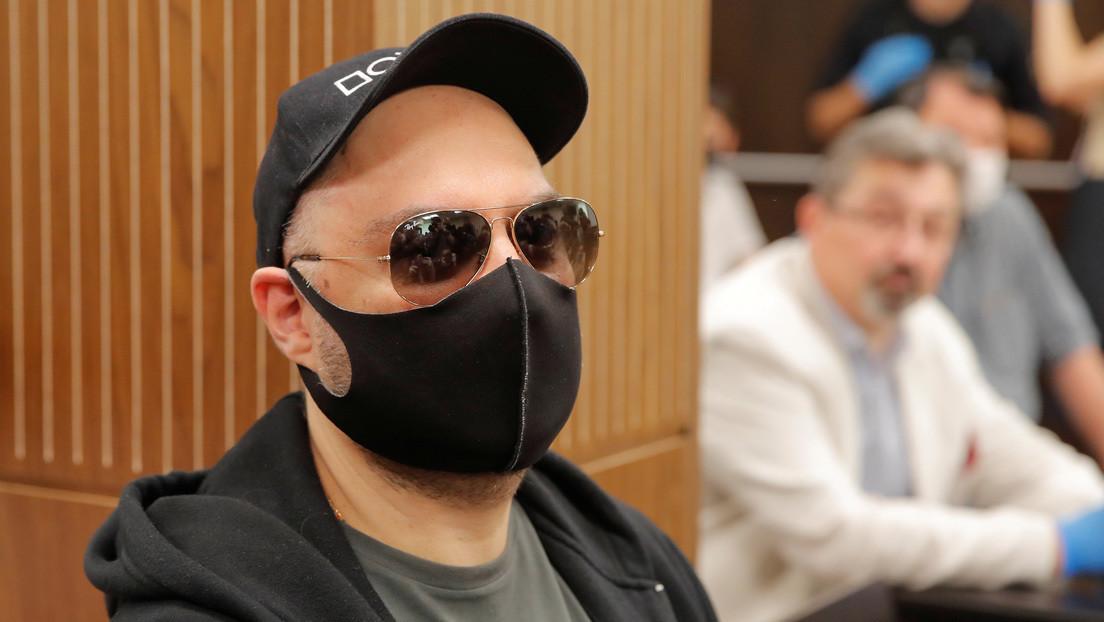 Libertad condicional y una multa para el director de cine y teatro ruso Kirill Serébrennikov, acusado por malversación de fondos estatales