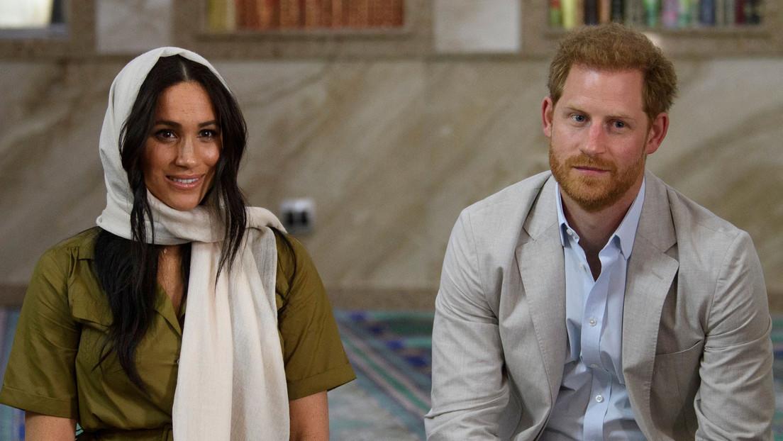 El príncipe Enrique y su esposa Meghan Markle encuentran trabajo