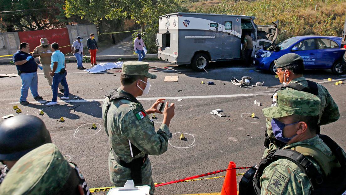 Semana del horror en México: cadáveres apilados, incendios, atentado contra jefe policial y guerra política