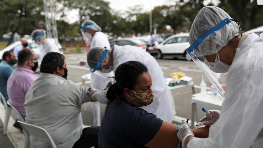 Brasil confirma 46.860 nuevos casos de coronavirus y otros 990 fallecidos