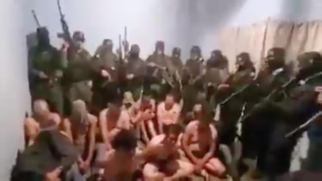 VIDEO: Sicarios encañonan e interrogan a presuntos integrantes del Cártel Jalisco Nueva Generación en Zacatecas