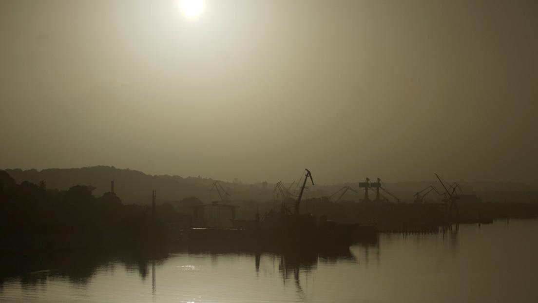 Llega a EE.UU. la gran nube de polvo 'Godzilla' formada en el Sáhara