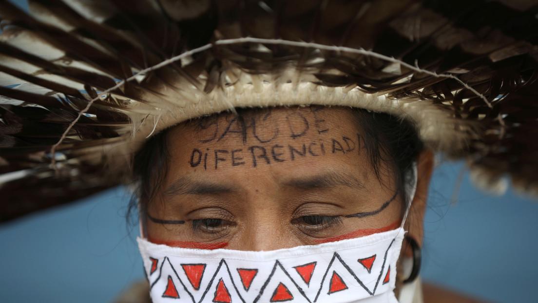 """Temor a un """"nuevo genocidio"""": El coronavirus afecta a más de un centenar de etnias indígenas en Brasil"""