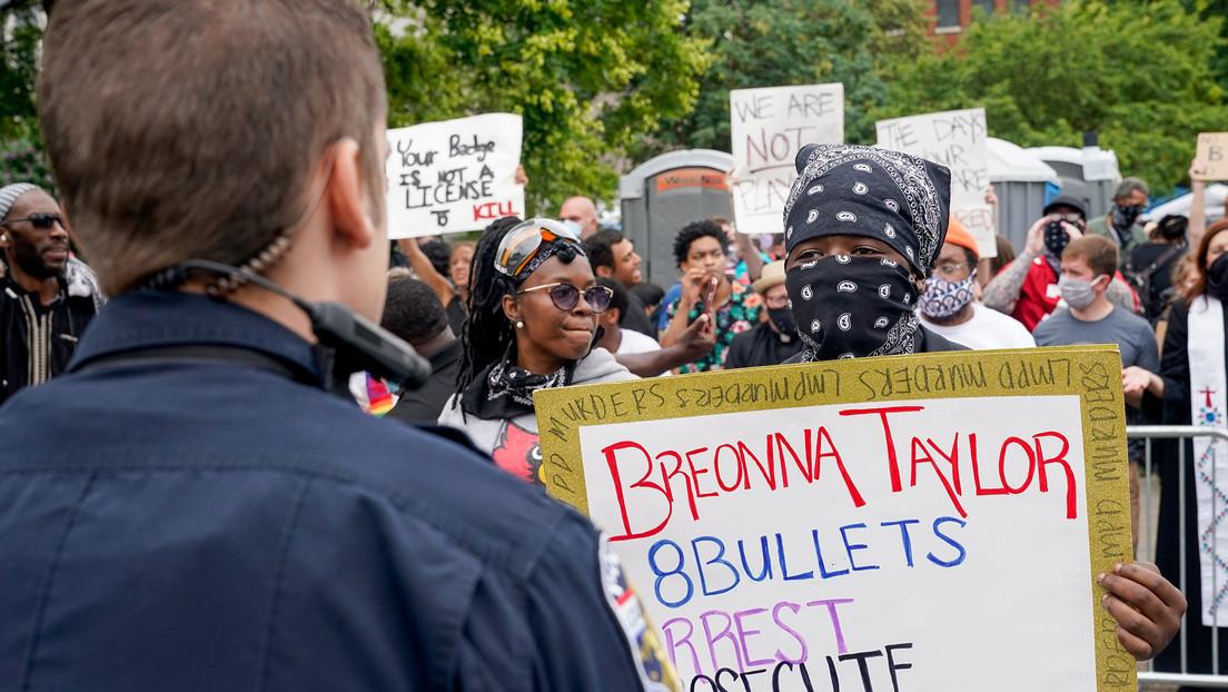 Al menos un muerto y un herido tras un tiroteo durante una protesta por Breonna Taylor en EE.UU. (VIDEO)