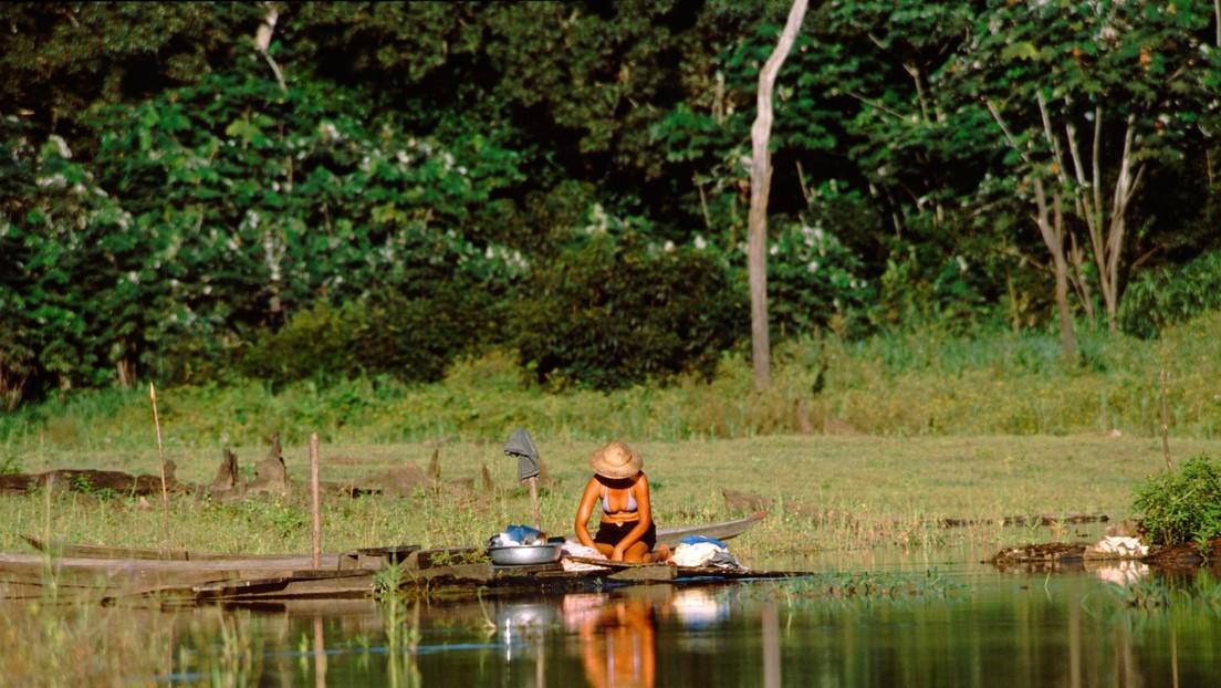 """""""Eramos extraterrestres para ellos"""": un explorador recuerda cómo aterrizó en una tribu aislada en Ecuador en 1972 (FOTOS) thumbnail"""