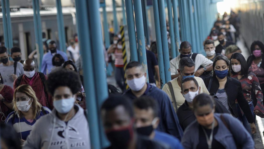 Brasil registra 30.476 nuevos casos de coronavirus y 552 muertes en las últimas 24 horas