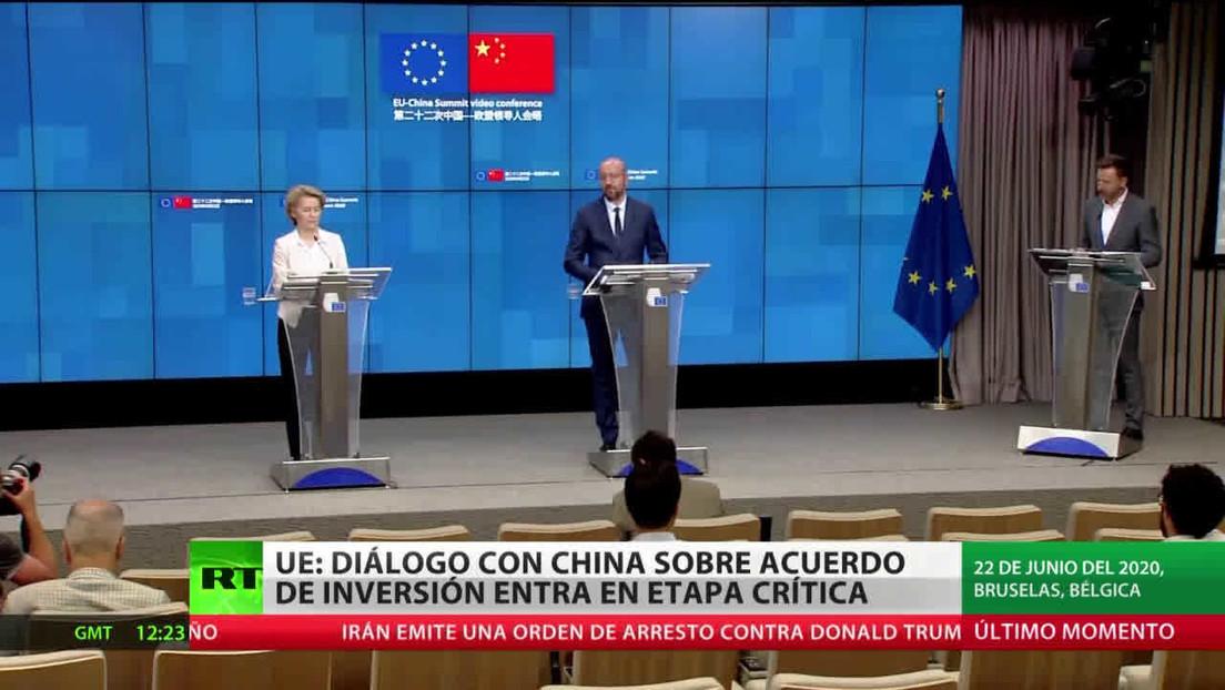 """Las negociaciones del acuerdo de inversión entre la UE y China entran en una """"etapa crítica"""""""