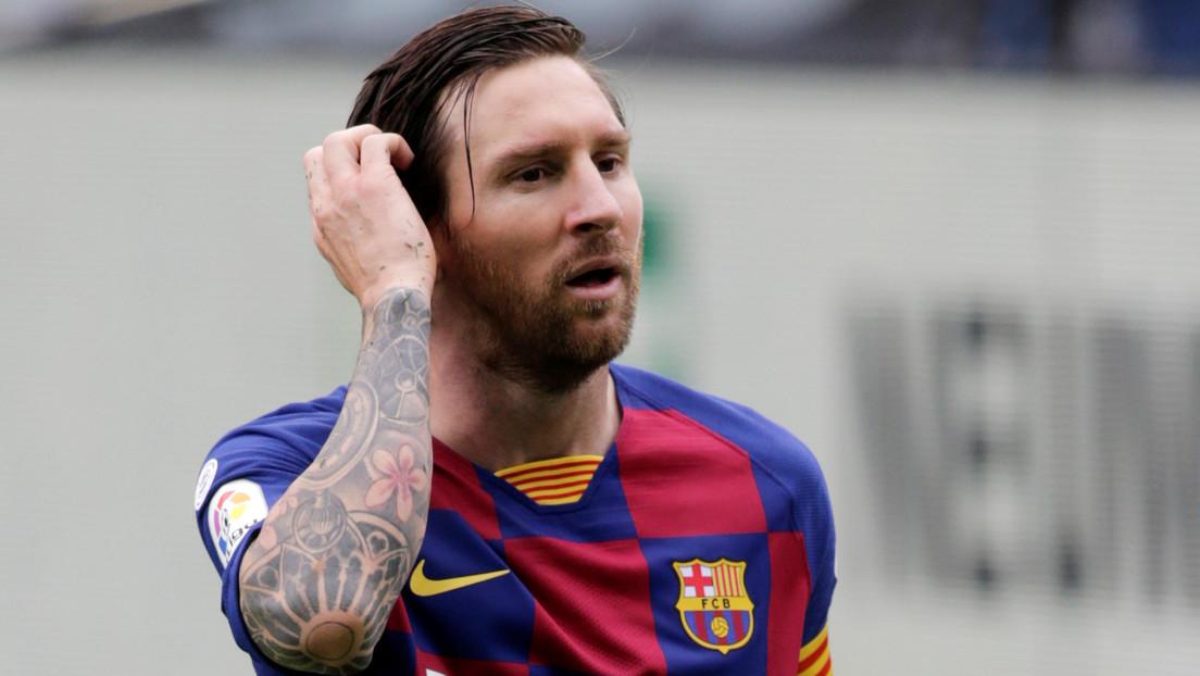 VIDEO: Messi se enoja e ignora por completo al segundo entrenador del Barça en pleno partido de La Liga