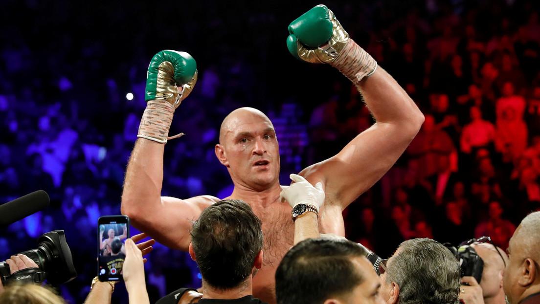 Tyson Fury responde a las acusaciones del hermano de Deontay Wilder de vencerle en la última pelea con trampa